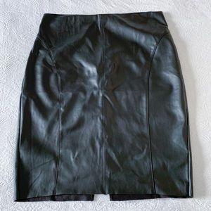 Express Vegan Leather Skirt